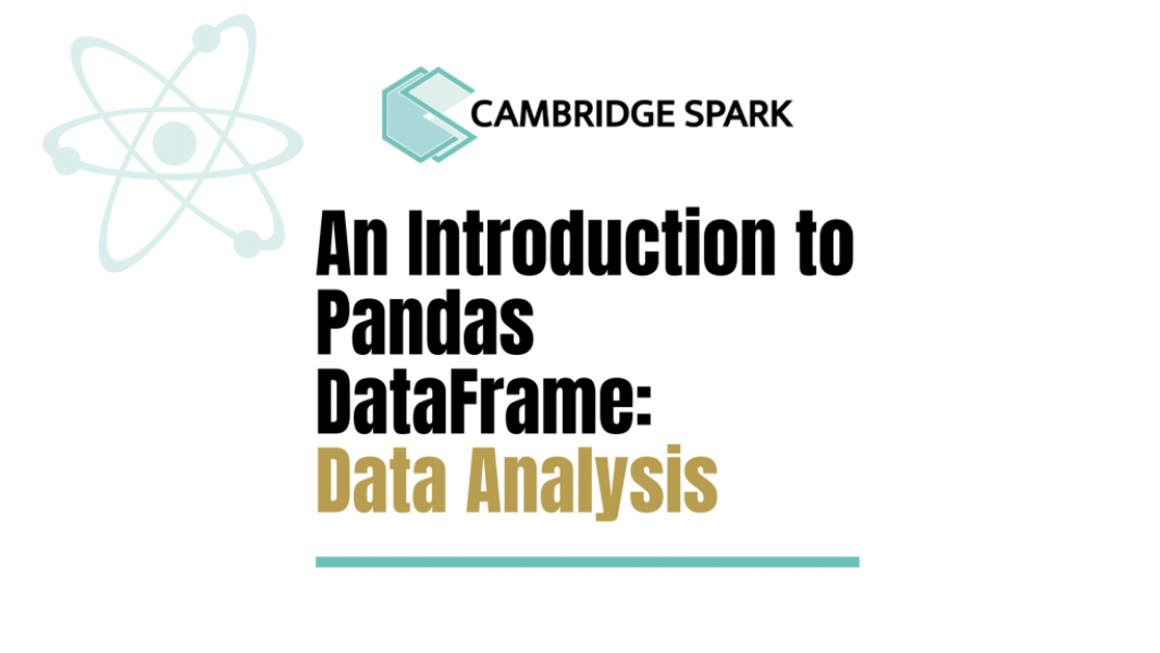 Intro to Pandas DataFrame for Data Analysis