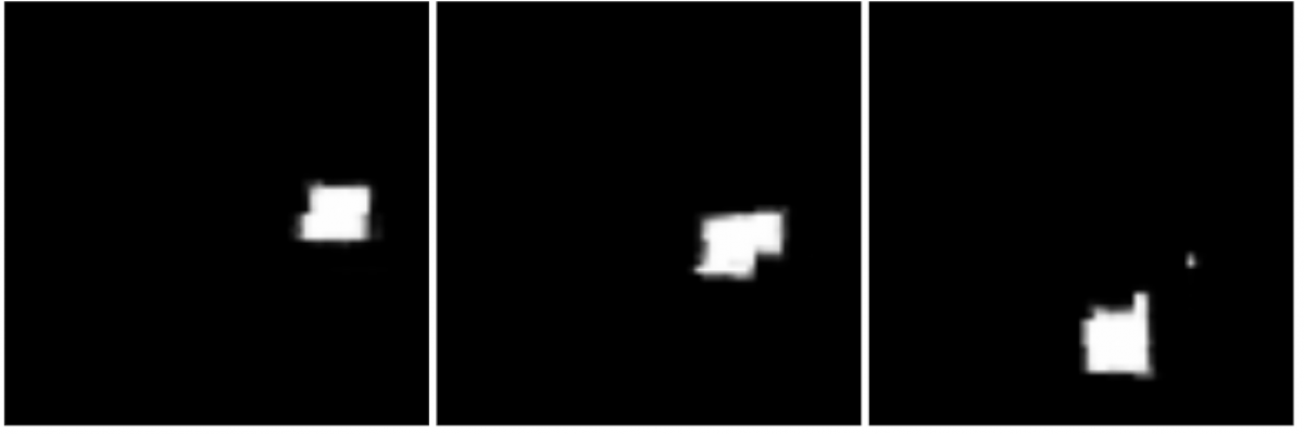 Quadrant data split, testing examples: