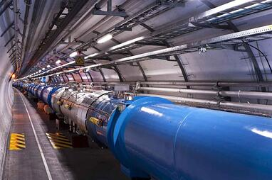 The Large Hadron Collider (Image: CERN, Creative Commons licence)