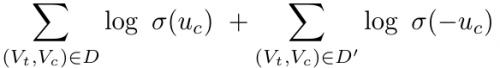 previous negative-sampling equation