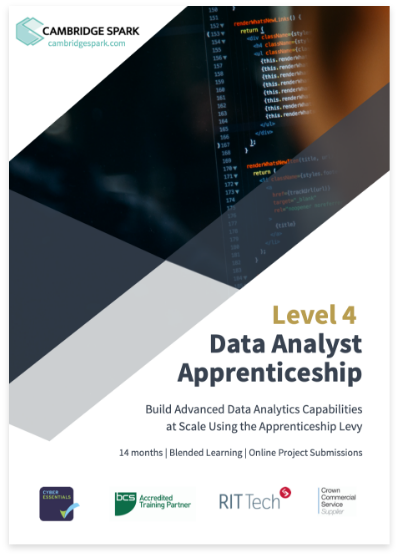 L4 data Analyst prospectus cover